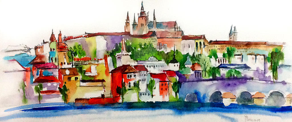 prague or praha. by young920