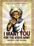 Steve Enlistment Poster