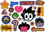 YGO:TAS sticker collection
