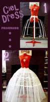 Ciel Dress Progress by SKOpseudonym