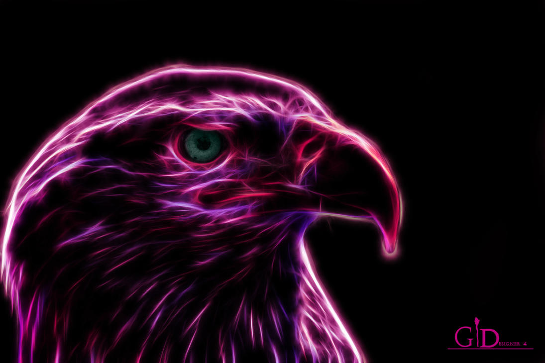 The Glowing Eagle by GiacomoBoulanger