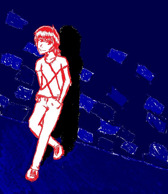 random person sketch by Faustina13