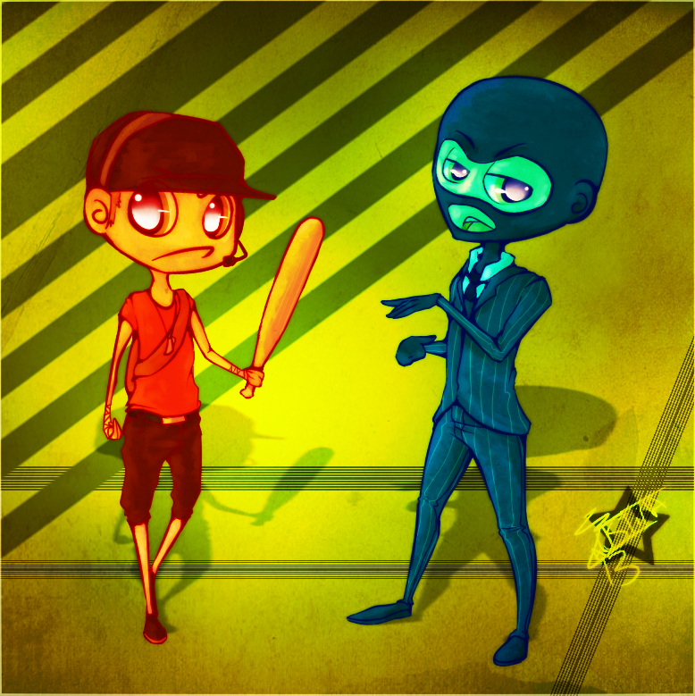 RAINBOWboy n SHAPEshiftinRAT by Faustina13