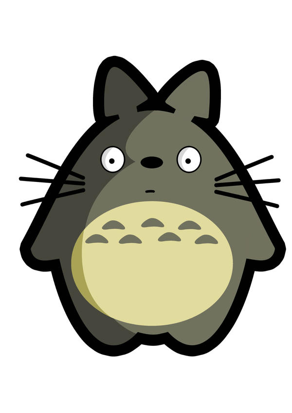Totoro by Kaelmo