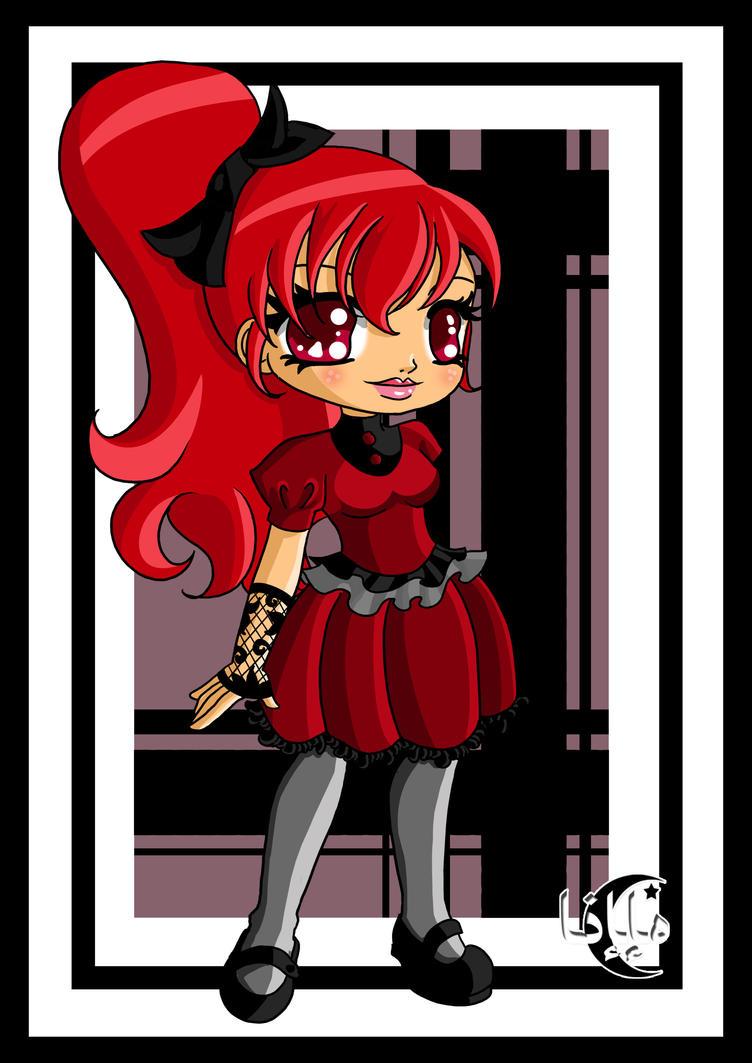 Goth rouge by Kaelmo