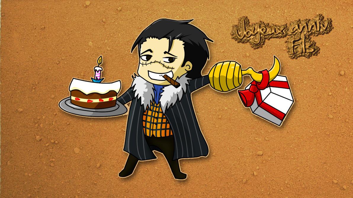 Birthday Calendar One Piece : One piece croco birthday by dulcamarra on deviantart