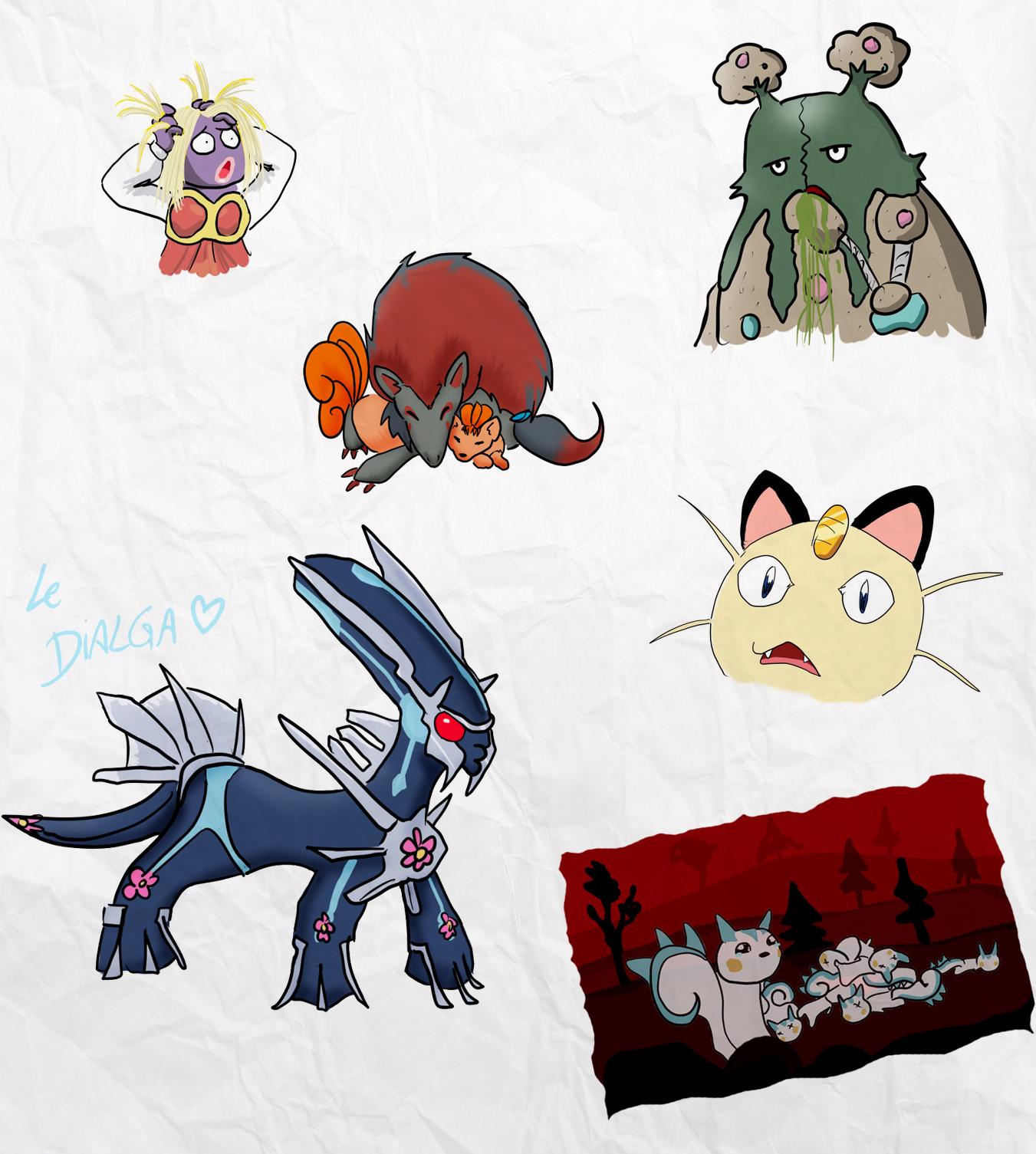 Pokémon Gotta Free 'em all ! - Page 4 Drawfag_request_by_muramoko-d3doxbe