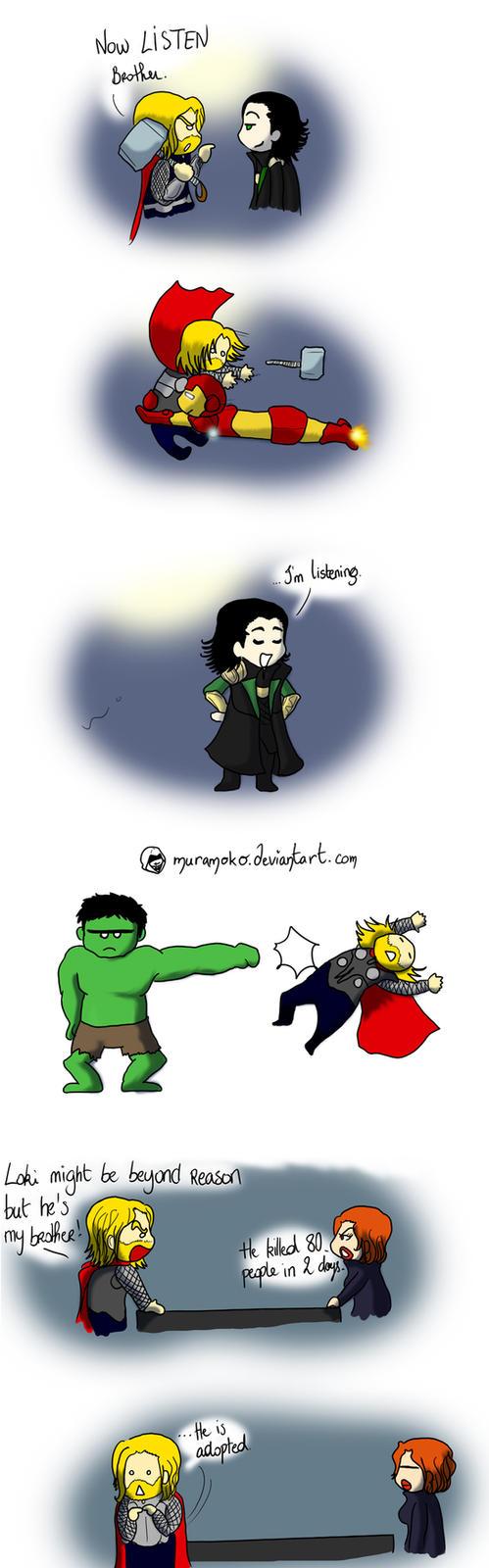The Avengers by Dulcamarra