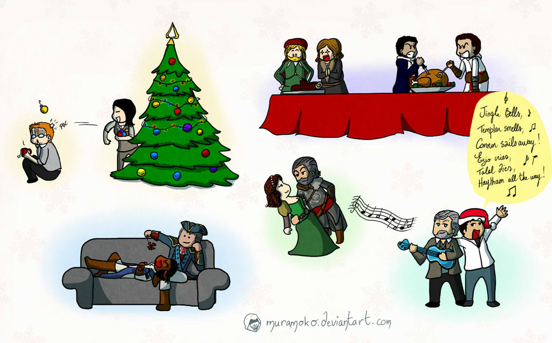 Merry Christmas, Assassins ! by Dulcamarra