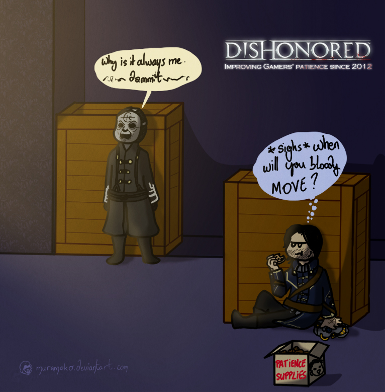 Dishonored is a game of patience... by Dulcamarra
