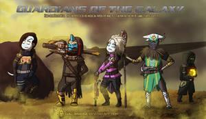 Guardians of the Galaxy by Dulcamarra