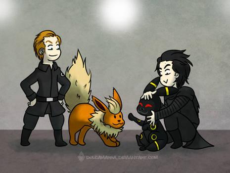 Kylux and Eevee