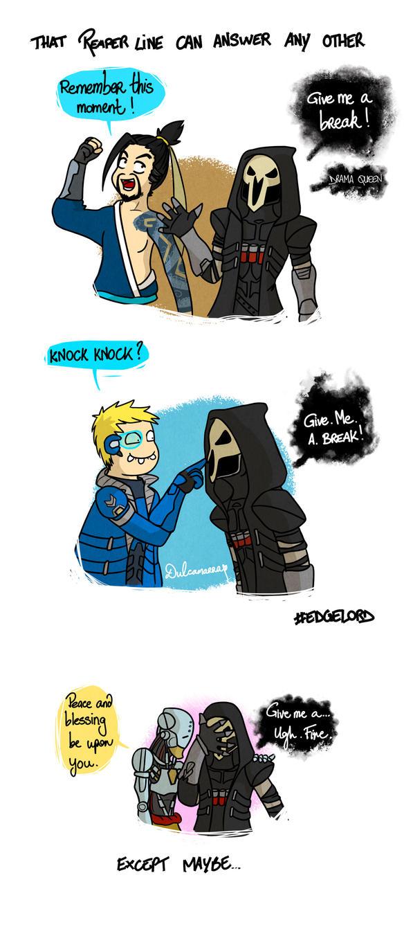 Give Reaper a break by Dulcamarra