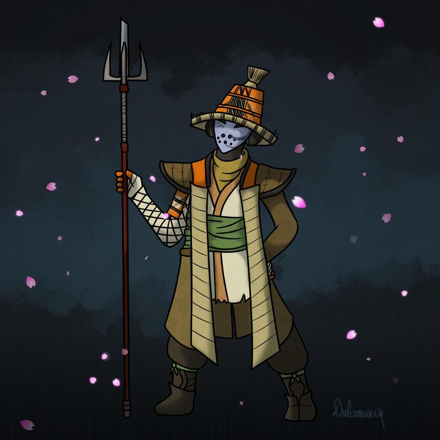 Comm: For Honor's samurai by Dulcamarra