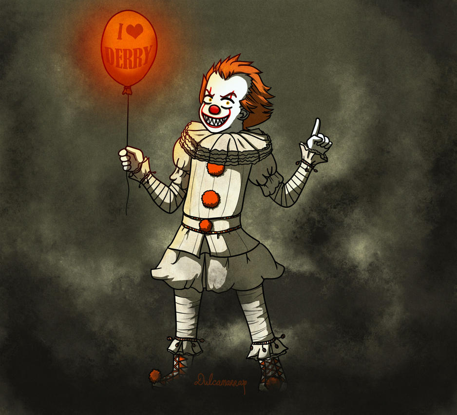 Pennywise the dancing clown by Dulcamarra