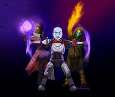 Destiny 2: Vanguard Heroes by Dulcamarra