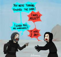 Last Jedi spoilers by Dulcamarra