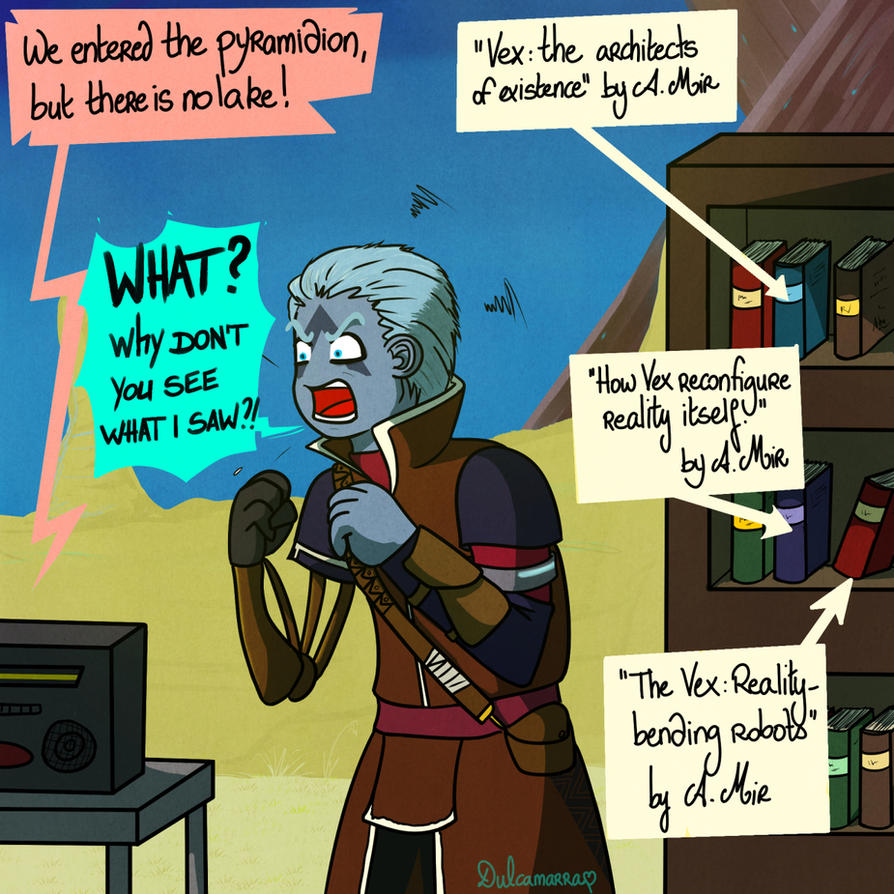 Asher and the Pyramidion by Dulcamarra