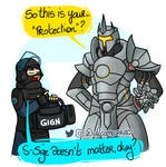Overwatch vs Siege: protection
