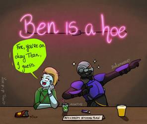 Plain Ben's birthday