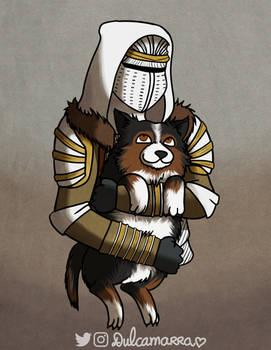 Comm: hunter and doggo