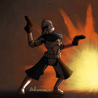 Cool clones don't look at explosions