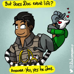 Does Doc even lift ? by Dulcamarra