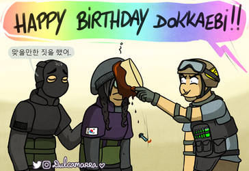 Dokka birthday ! by Dulcamarra