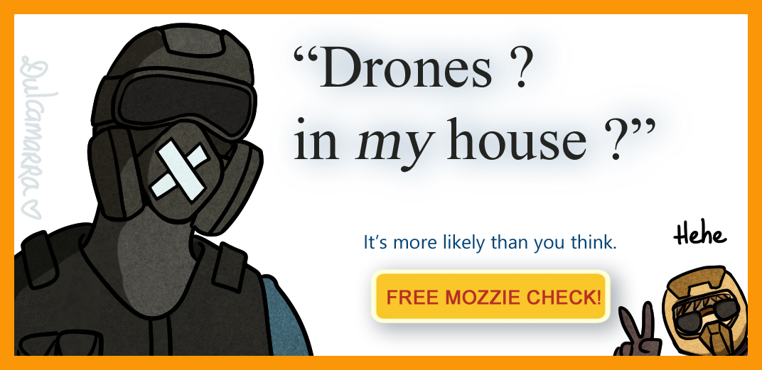 Moot Drones In My House by Dulcamarra