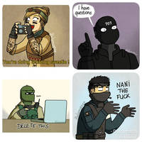 R6S reaction pictures