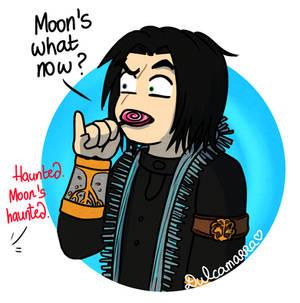 Moon's on maximum capacity