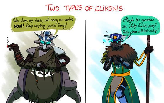 Types Of Eliksnis