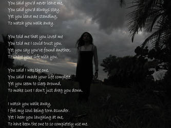 ...To Watch You Walk Away... by Dawnrazor68