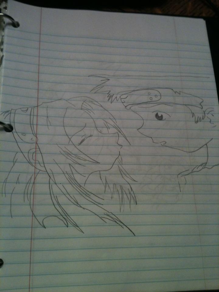 Naruto Drawing I Did (No Copyright Intended) by FAILimanjaro