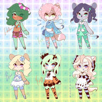 (3/6 Open) Chibi Adopts
