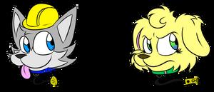 Diggy and Ruma (Goofy Style)