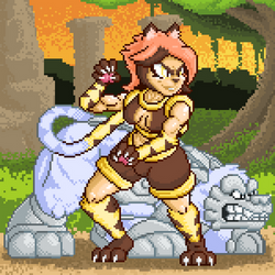 Ximomera Idle Sprite by CHAOKOCartoons