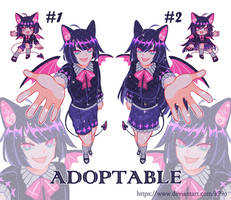 [ADOPT]Charm twins 2.0[OPEN] by A99O