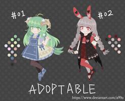 [ADOPT]Chibi #02[OPEN] by A99O