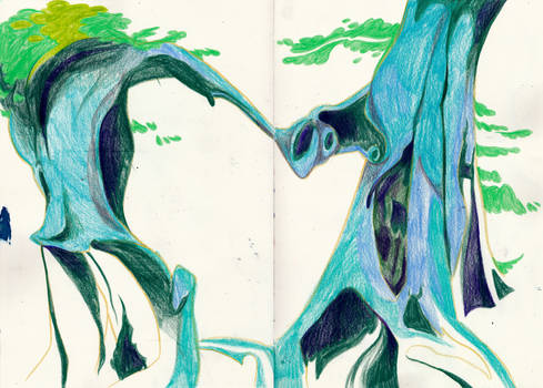 Turquoise Trees