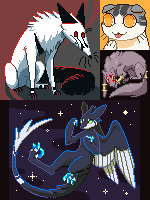 Pixel Commissions by CorruptedFox