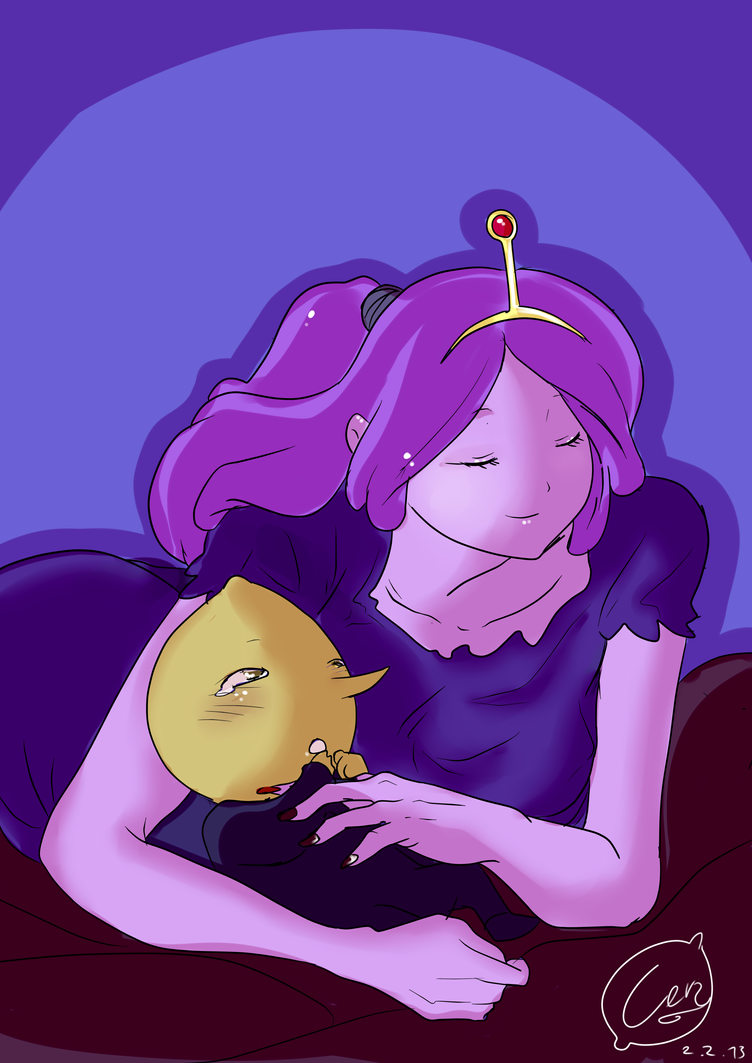 A little love by LadyDeathAndPain