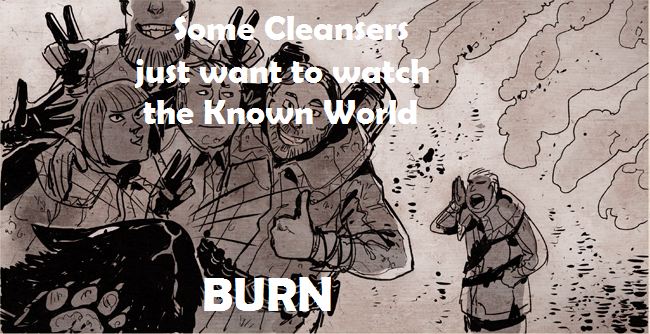 Cleansers Meme by RevealedFromtheVoy