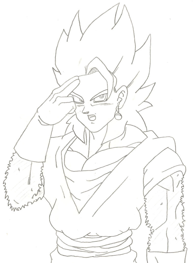 Gogeta Coloring Pages Coloring Pages