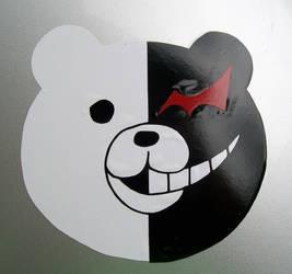 Dangan Ronpa Monokuma Monobear decal sticker