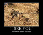 'I See you'
