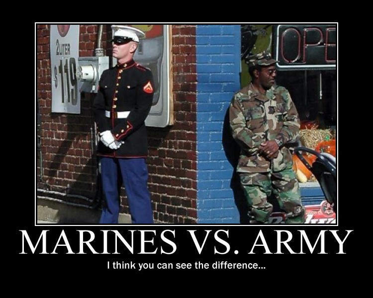 Marines and Army