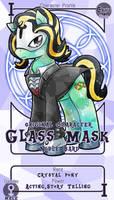 [Commission] Glass Mask