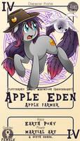 Character Card : Apple Eden