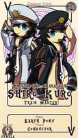 Character Card : Kuro and Shiro